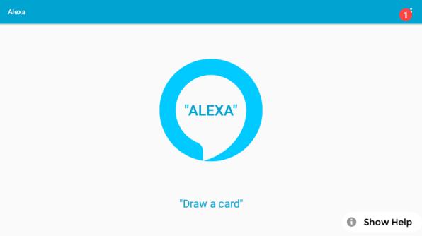 Alexa draw a card